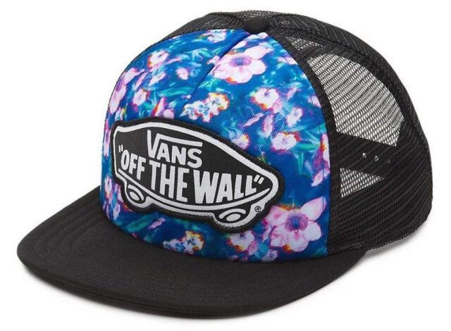 35735f5c3b Vans Off The Wall Women s Beach Girl Trucker Hat Cap - Blurred Floral