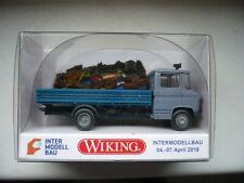 Wiking 027151 Pritschenwagen MB L408 Sondermodell Messe Dortmund NEU