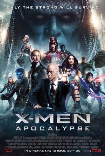 Science fiction Movie POSTER PRINT ART #21 X-Men Apocalypse A3//A4 SIZE