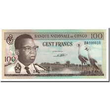 [#560602] Congo Democratic Republic, 100 Francs, 1961-1964, KM:6a, 1962-02-01