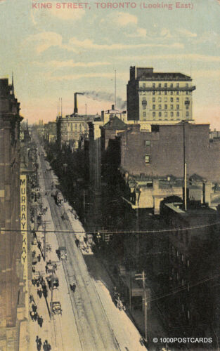 CANADA Toronto King Street looking east 1911