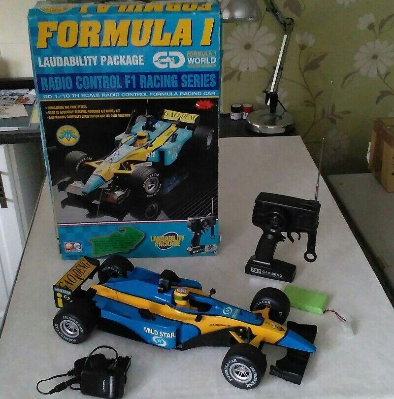 Formula 1 F1 Racing World radiocomando Championship gaodeng  inscatolato