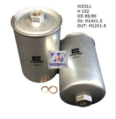 wesfil fuel filter for rolls royce silver spirit/silver spur 6 8l v8 81-