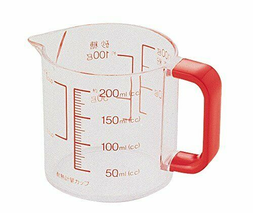 Made in Japa.. Parukinzoku path time a plastic measuring cup 200ml From Japan