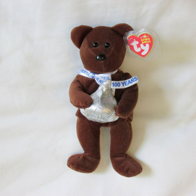 ea42c69d9c4 Ty Beanie Baby Cocoa Bean MWMT Plush Bear (Walgreens Excl) toy Hersheys  Kisses