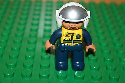 LEGO® DUPLO® Polizist Mann Figur 98465 NEU