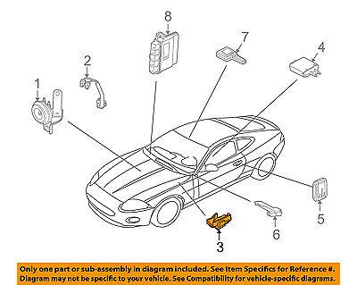JAGUAR F 2013-ON TYPE UNDER BONNET SECURITY SWITCH GENUINE JAGUAR C2D27159