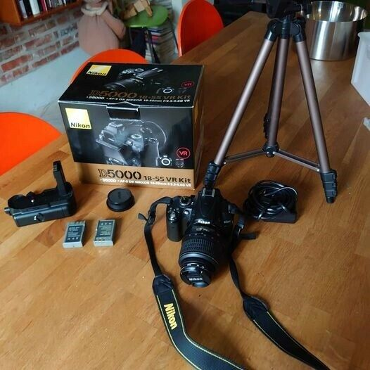 Nikon, D5000, God