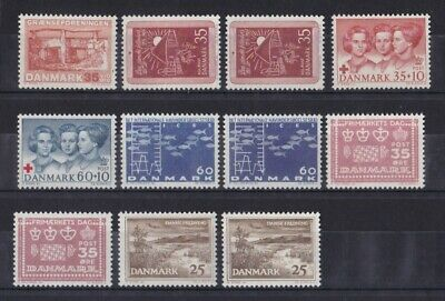 Dänemark Postfrisch Jahrgang 1964 Siehe Bild