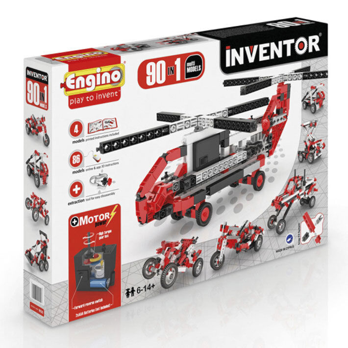 Inventor Motorized - 90 modellos - Engino costruzioni   grande vendita