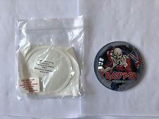 Trooper Beer Iron Maiden Round Fish Eye Pump Tbar Badge New