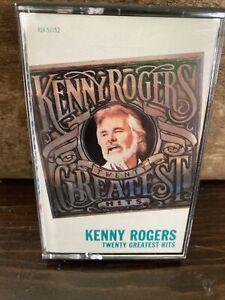 Kenny Rogers – Twenty Greatest Hits - Liberty – 4LV-51152 - 1983 - Cassette