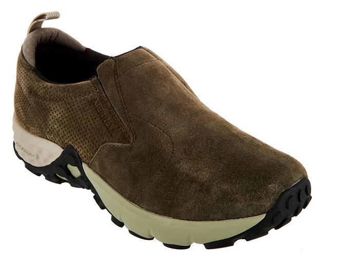 Merrell Suede Slip-on shoes - Jungle Jungle Jungle Moc AC+ Dusty Olive Women's 5 New 90e81e