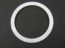 Todos los bisel de cerámica blanca insertar PARA ROLEX SUBMARINER 16610, 16800, 16803, 16808