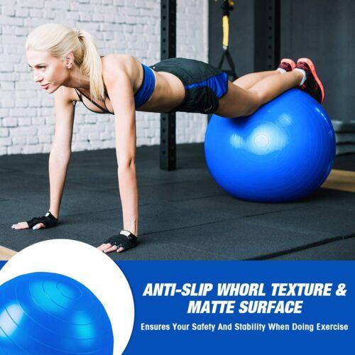 Exercise Workout Yoga Ball Yoga Fitness Pilates Sculpting Balance 65cm Pump