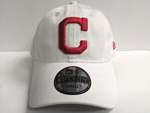 09ef13337ac1d7 Cleveland Indians New Era Cap 49Forty Core Fit Fitted Unstructured ...