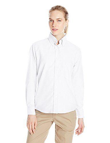 ba13a1de2d9ced Red Kap Womens Plus Size Executive Oxford Dress Shirt White 22