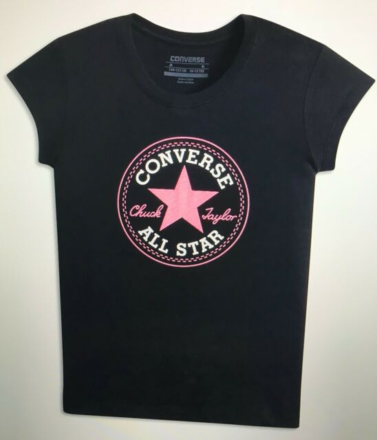 Converse Chuck Patch Tee for Girls