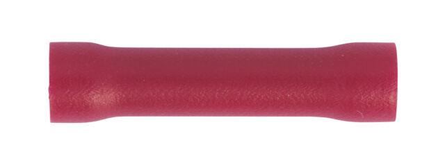 Sealey RT29 Butt Conector Terminal � 3.3mm Rojo Paquete de 100