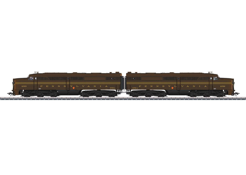 Märklin 39617 doble tracción diesellok Alco pa-1 la PRR mfx + Sound  neu en OVP