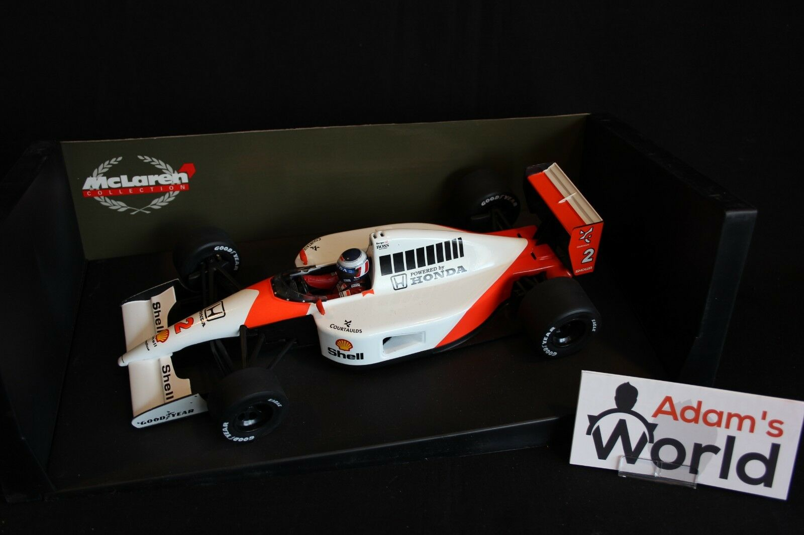Minichamps McLaren Honda MP4-6 1991 1 18  2 Gerhard Berger (AUT)