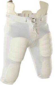 Youth Size Los Slotted All 5 Football Adams Nwt Pants Pairs Y2xl White Sale axSaZrR
