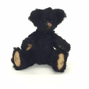 Wee-Gem-Mini-Teddy-Bear-Doll-Ebony-Chu-Ming-Wu-3-5-034-Fully-Jointed-1995-872-3000