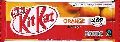 NESTLE KIT-KAT ORANGE CHOCOLATE BARS 9 PK