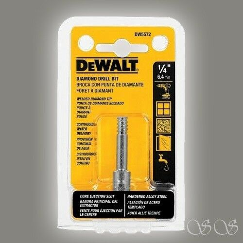 DEWALT DW5572 1//4-Inch Diamond Drill Bit