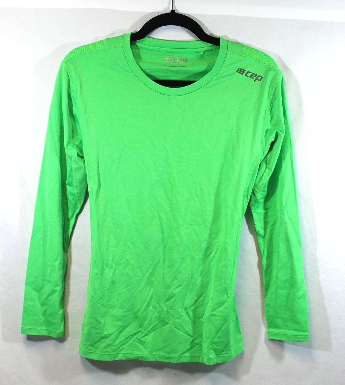 CEP Deporteswear wingtech  Prenda Interior Camisa Tamaño Grande para Hombre de Manga Larga verde IV  selección larga