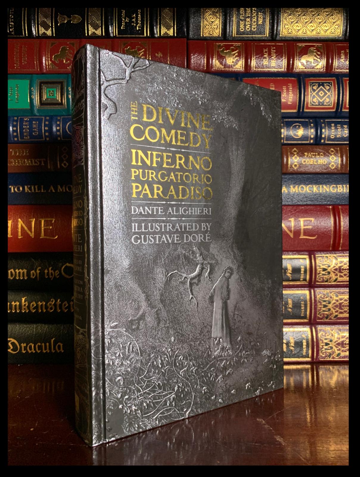 lined twill pencil case the divine comedy illustration  dante/'s inferno 1892 double sided print Gustave Dor\u00e9