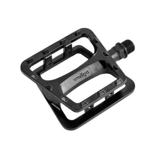 Wellgo C227DU bicycle bike pedals pair pedal set cycling black white red alloy