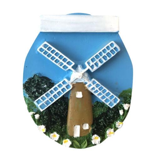3D Windmühle Kühlschrankmagnet Fridge Magneten Aufkleber Küche Deko Geschenk Neu