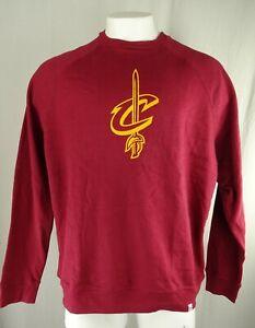 Cleveland Cavaliers NBA Majestic Men's Crew Neck Sweatshirt