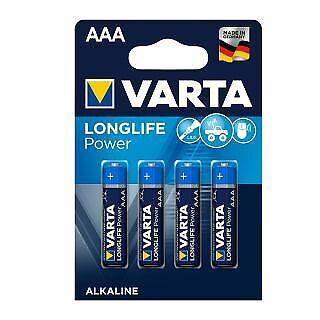 40 Stk Varta AAA Micro LR03 4903 Longlife Power Batterie in 10er Schachtel 40x