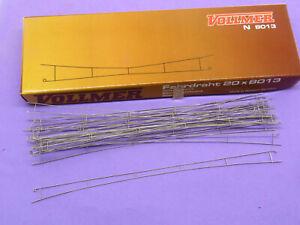 VOLLMER LOT 20 ELEMENTS CATENAIRE 200 MM. REF. 8013 - ECHELLE N 1/160