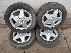 1-Satz-Alufelgen-Intra-Opel-Astra-G-4-Loch-6-Jx15-H2-ET49-LK-4x100