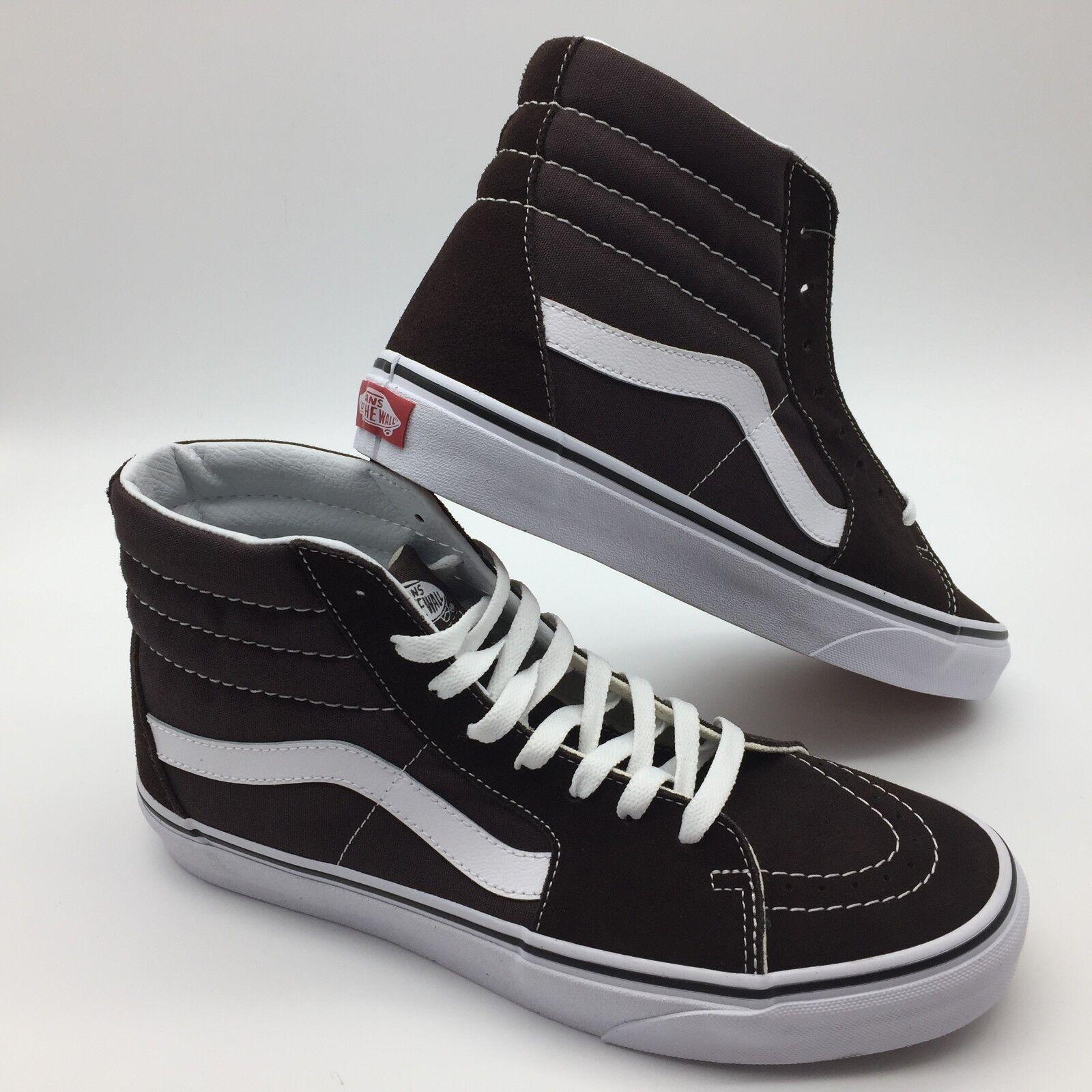 Vans Men's shoes  Sk8-Hi  Chocolate Torte True Whit