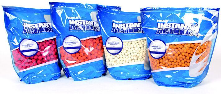 Nash IA Instant Action Boilies 5kg Shelf Life 12mm 15mm 18mm 20mm Full Range