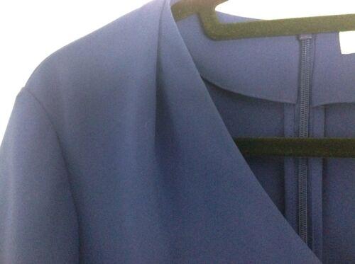 a 8 superbe Taglia maniche Camicia reale blu Bennett Uk in corte K L Condizioni EwHqTT