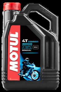 4-Lt-Litres-Huile-Moteur-pour-Entretien-Moto-Motul-4T-3000-20W50-Minerale-MA2