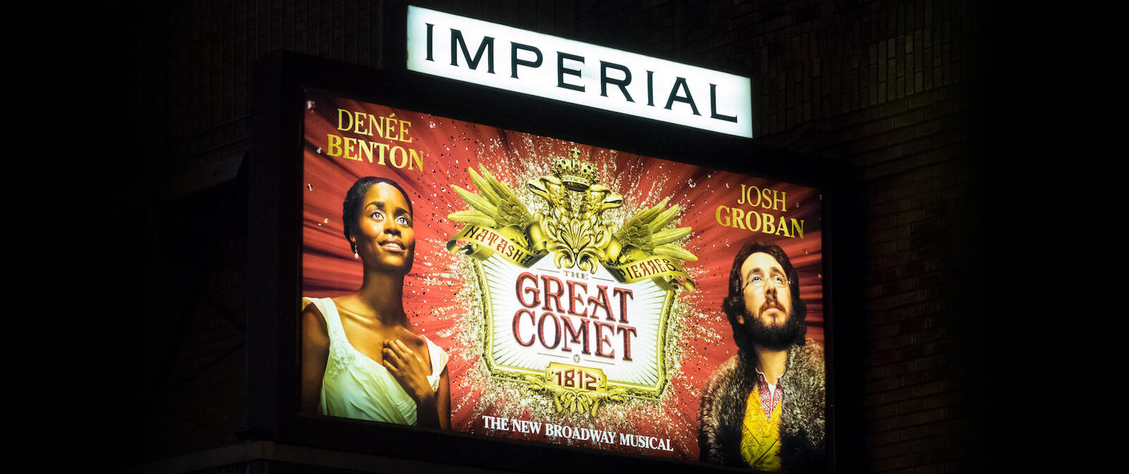 Natasha, Pierre and The Great Comet of 1812 New York