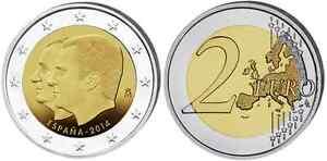 ESPAGNE 2 Euro Commémorative Changement de Trone 2014 UNC
