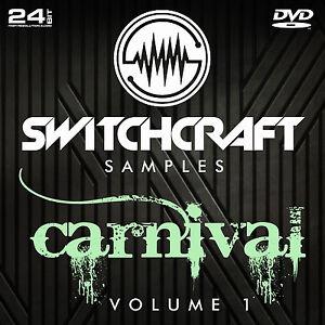 Details about CARNIVAL VOL 1 - 24BIT WAV STUDIO / MUSIC PRODUCTION SAMPLES  - DVD