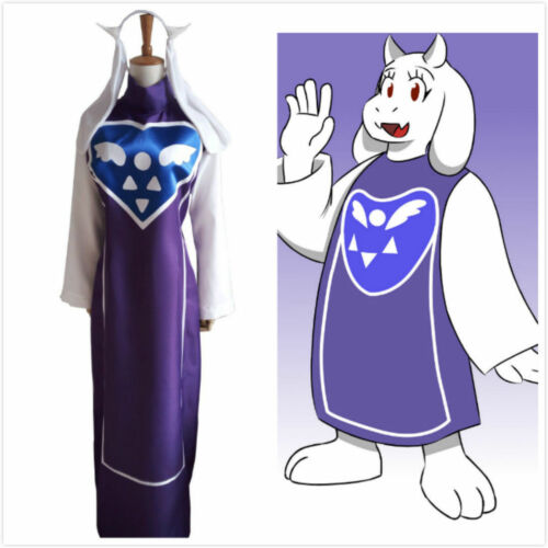 Game Undertale Goat Mother Toriel Cosplay Costume