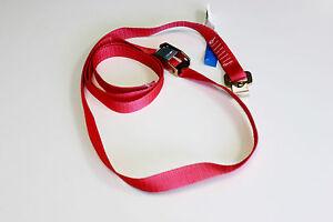 1x-Schnellspann-Klemmschloss-Klemmschlossgurt-einteilig-rot-2-m