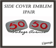 [LG2162] HONDA C100 CA100 C102 CA102 C50 SIDE COVER EMBLEM 1PAIR
