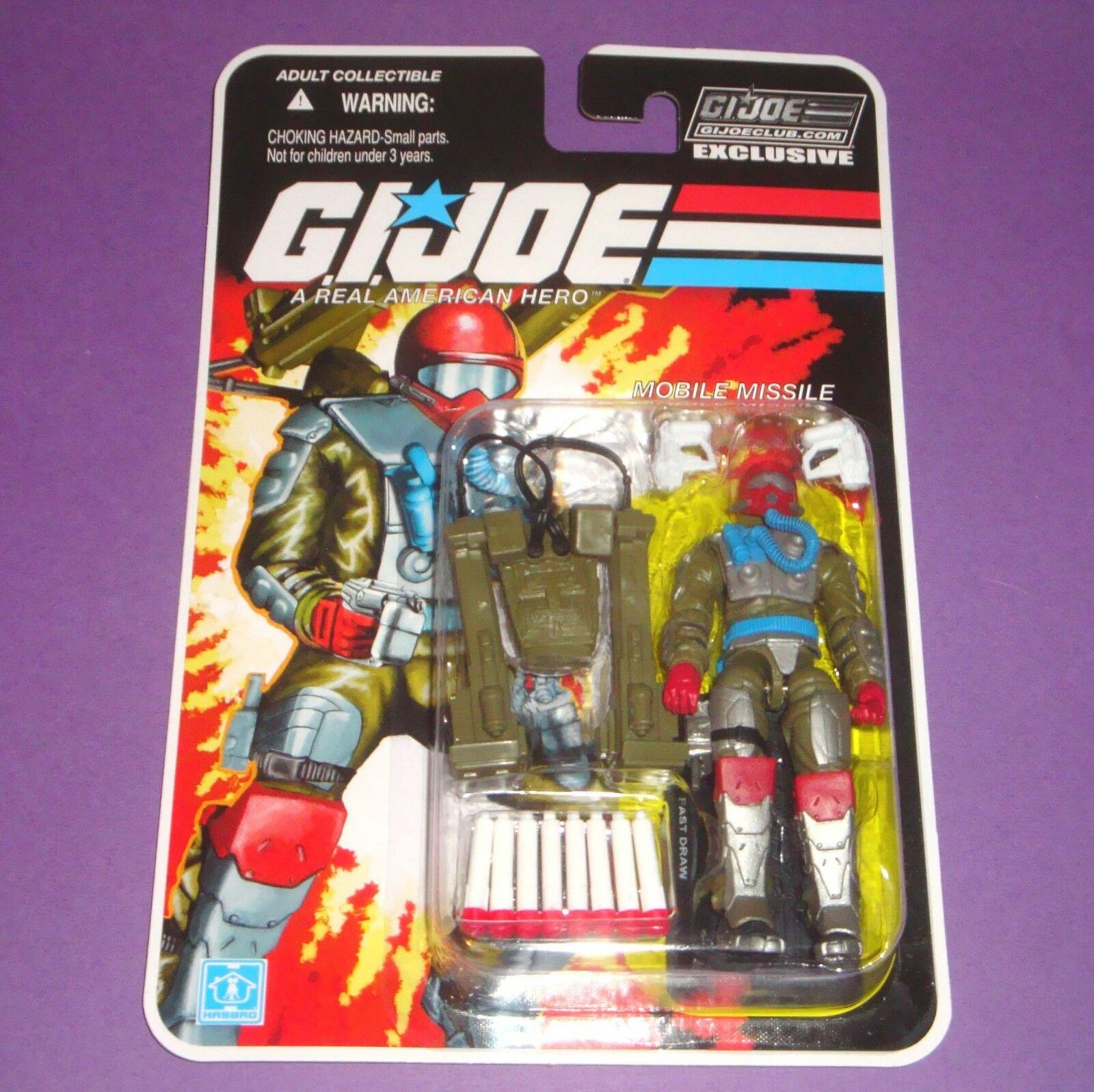 Fast Draw - FSS 8.0 - Sealed New MOC - GIJOE Figure