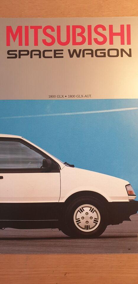 Brochure, Mitsubishi Space Wagon