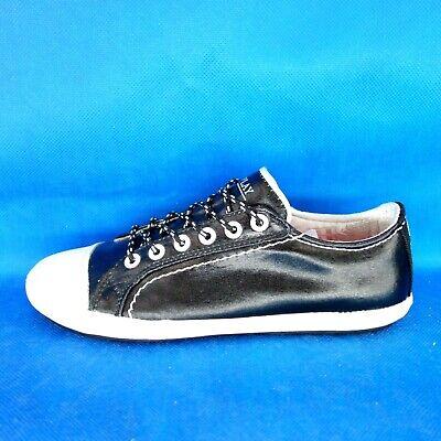 Replay Zapatos Mujer bajo Top Zapatillas Almie Talla 36 Negro Plano Cordones Np | eBay
